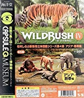 海洋堂カプセルQミュージアム WILD RUSH 真・世界動物誌 第4弾 アジア・熱帯編 全5種