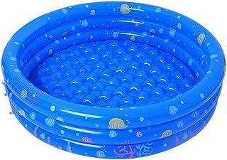 XYBB Piscina Piscinas Desmontables Hinchable Portatil Al Aire Libre Ninos Banera Banera Kidsswimming Piscina Agua 150cm Azul