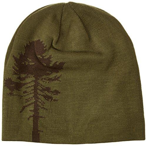 Pinewood Kinder Wendemütze Tree, grün/Braun/Orange, One Size