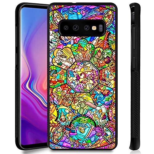 DISNEY COLLECTION Phone Case Compatible Samsung Galaxy S10 Disney Family Anti-Slip Shockproof Protective Tired Case Cover for Galaxy S10 6.1Inch