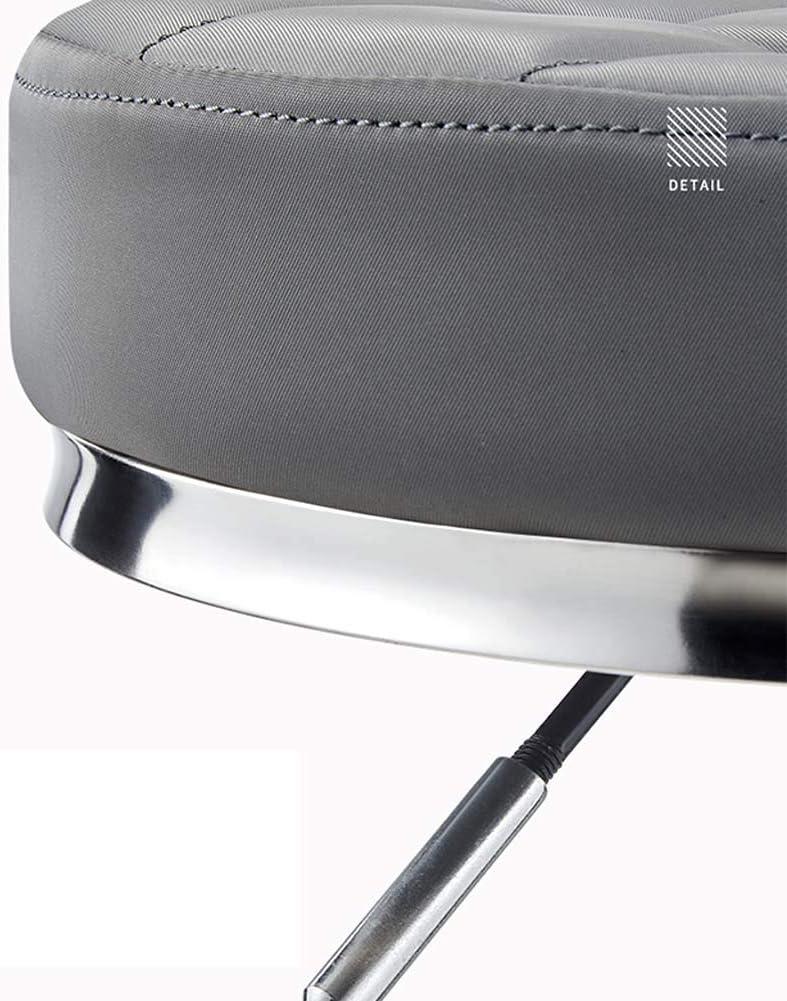 SXRDZ Chaise de Massage Tabouret sur roulettes for Office Beauté Cuisine Salon Maison, réglable Haut roulement pivotant Tabouret (Color : Black) Blue