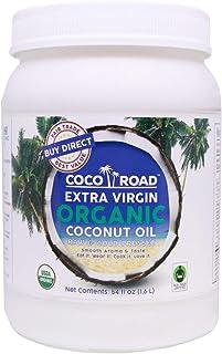 Sponsored Ad - Coco Road Organic & Fair Trade Virgin Coconut Oil (54 Fl Oz)