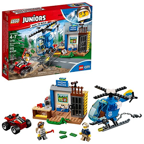 LEGO Juniors/4+ Mountain Police Chase 10751 Building Kit (115 Piece) (Discontinued by Manufacturer)