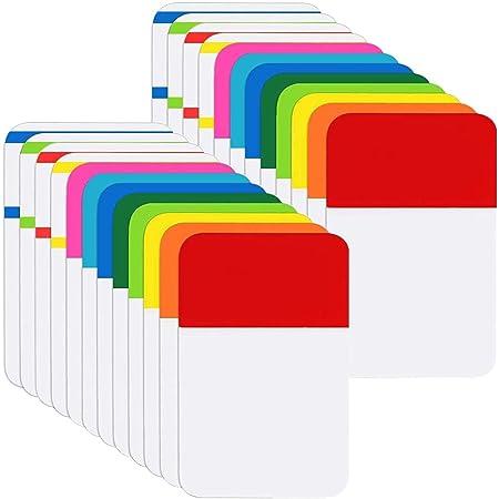 Post-It Film Index Tabs Flags Dice Mini 51 x 51 mm 400 Sheet Blau//Gelb//Gr/ün