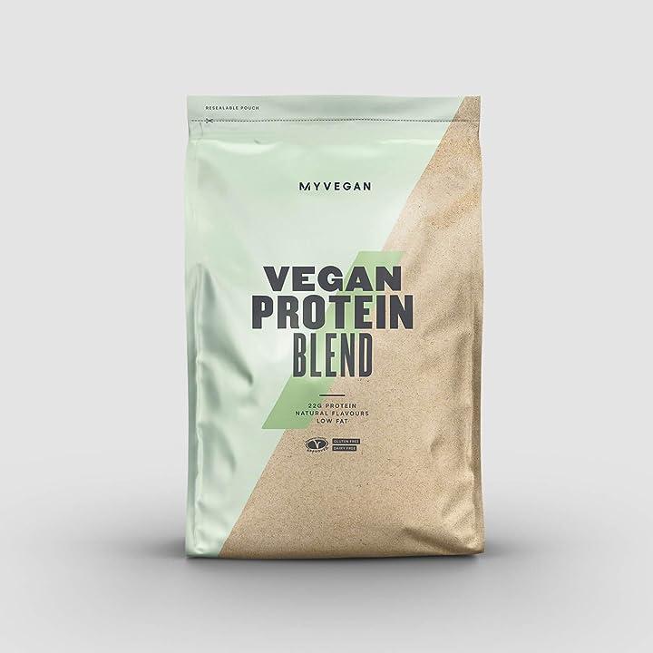 proteine vegane myprotein vegan protein blend v2 chocolate 1kg - 1000 g b00l7x944w