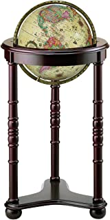 Replogle Globes Lancaster Illuminated Globe, Antique Ocean, 12-Inch Diameter, Large, Off- Off-White