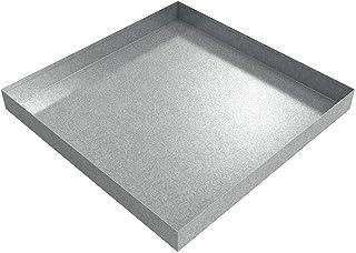 "Drip Pan - 24"" x 24"" x 2.5"" - Galvanized Steel"