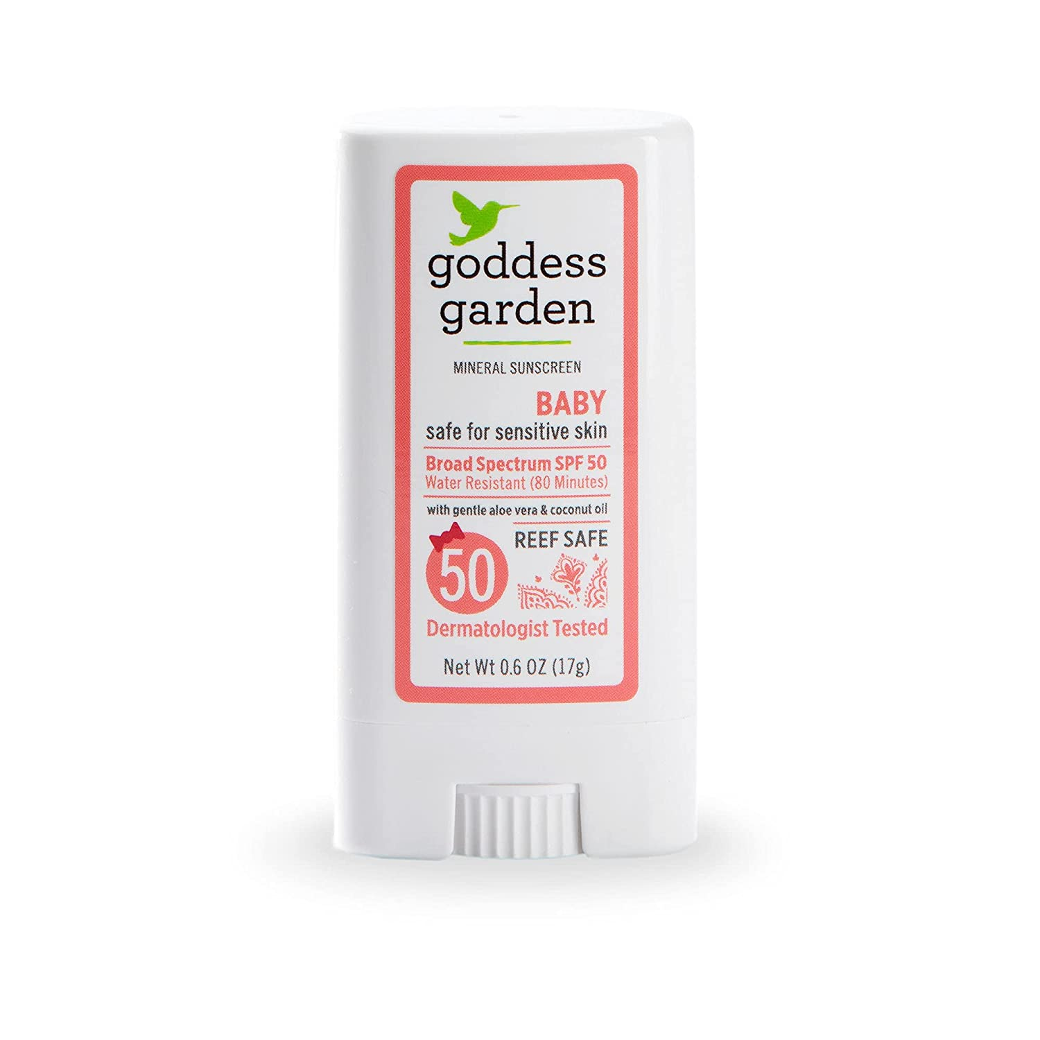 Goddess Garden - Baby SPF 50 1 Max 47% OFF Sunscreen Unit Stick Mineral Al sold out.