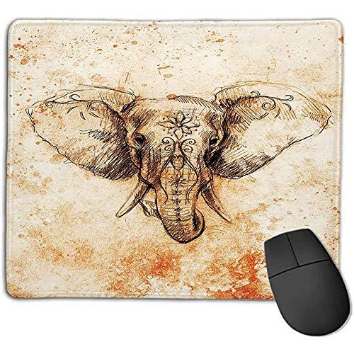 Alfombrilla ratón Alfombrilla ratón Mandala Elefante