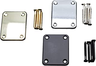 Timiy Guitar Neck Plate(3 Pack) in color Balck,Silver,Gold