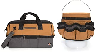 Dickies Work Gear 57093 18-Inch Bag and Bucket Organizer Combo Pack