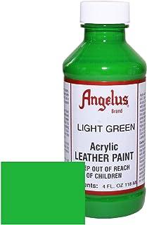 Angelus Acrylic Leather Paint-4oz.-Light Green