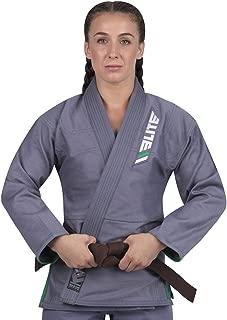 Elite Sports Ultra-Light Women's BJJ GI - IBJJF Approved Jiu-Jitsu GI for Women with Free Belt