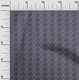 oneOone Cotton Cambric Stoff Leopard Tierhaut Stoff BTY 56