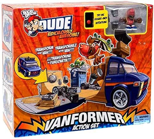 Tech Deck Dude Vanformer Action Set by Spin Master (English Manual)