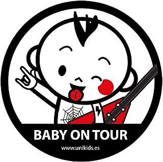 Unikids Pegatina Coche Baby ON Tour