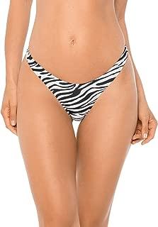 RELLECIGA Women's High Cut Thong Bikini Bottom