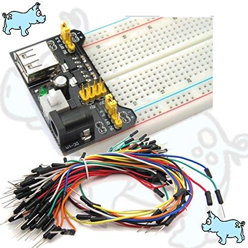 Kit di connessione, MB-120 power supply-Breadboard 830 Modulo 65 cable bundle