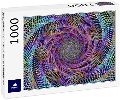 Lais Puzzle Unmögliche, sehr schwierige, psychedelische Farben 1000 Teile