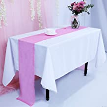 12''x108'' Blush Pink Sequin Table Runner, Sequin Table Cloth, Blush Pink Sequin Tablecloths, Sequin Linens
