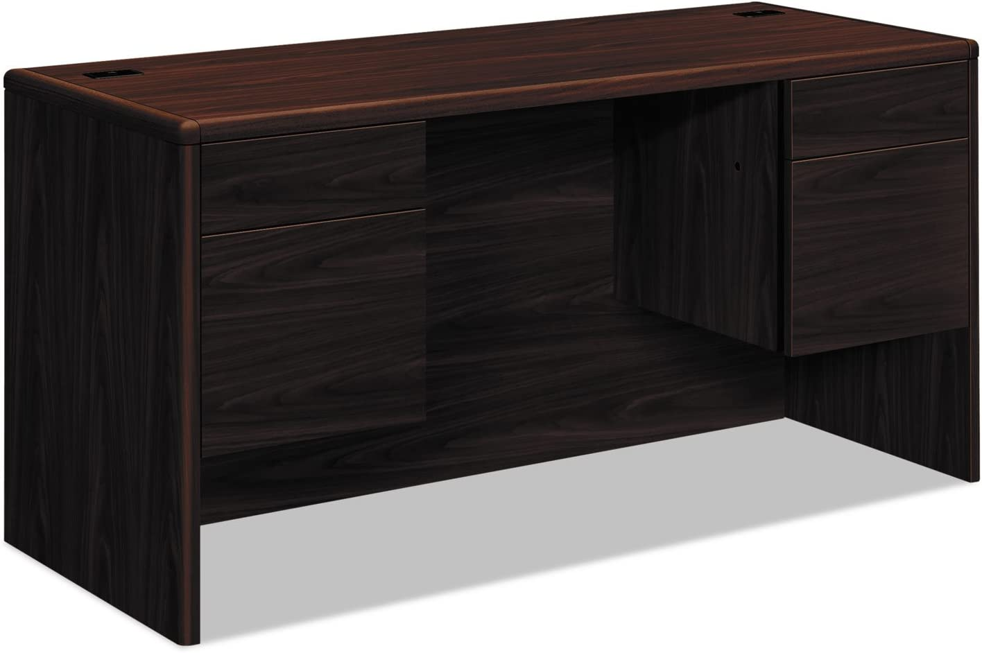 HON Selling and selling 10765NN 10700 Kneespace Bargain Credenza Height Pedestals 4 60w 3