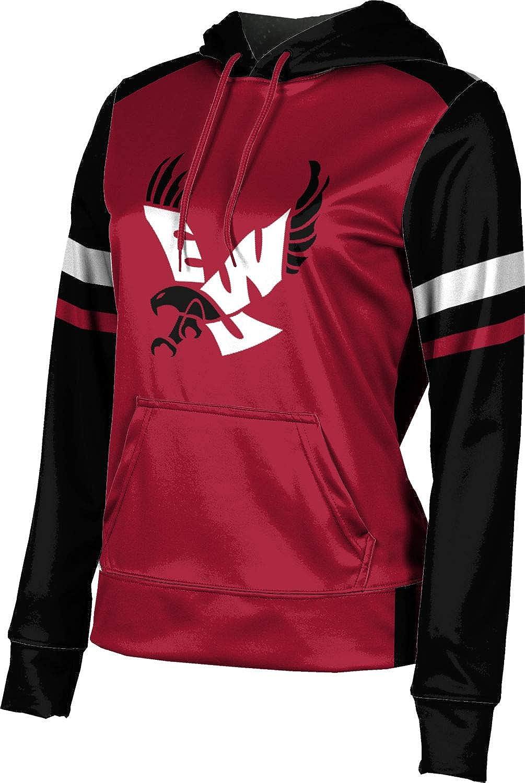 ProSphere Eastern Washington University Girls' Pullover Hoodie, School Spirit Sweatshirt (Old School)