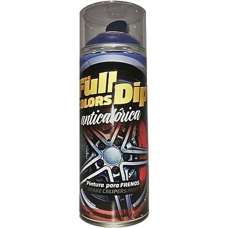 Fullcolors Cal001 Pintura Pinzas De Freno Negro 400 Ml Amazon Es Coche Y Moto