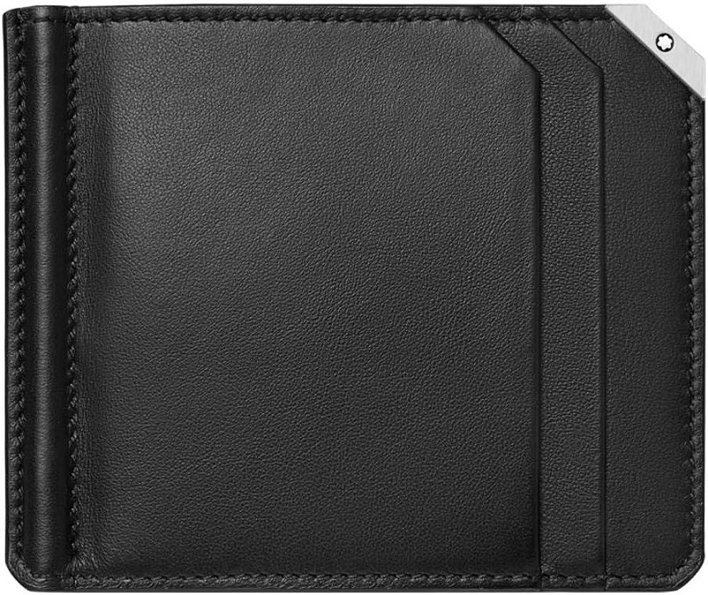 Montblanc Men's Meisterstueck Urban Wallet 6cc Money Clip Large 124092