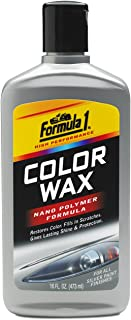 Formula 1 Color Wax for Cars (473 ml, Silver)