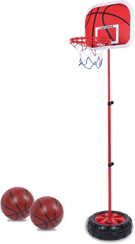RedSwing Kids Basketball Hoop, Adjustable Height Basketball Hoop