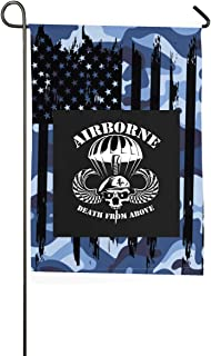 FGBFLAG Death from Above Garden Flag- 18 X 12 Inch Outdoor Holiday Flags