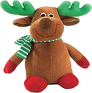 "Zanies Holiday Friends Dog Toys, 7.5"" Reindeer"