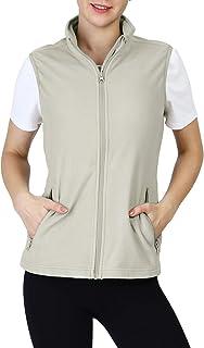 Women's Fleece Vest, Zip Up Lightweight Soft Running Vest...