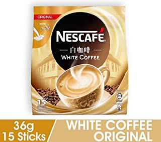 Nescafe White Coffee Original with Milk - Imported From Malyaysia ( 15s x 36g )