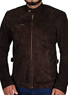 Tom Cruise Mission Impossible-3 Lamb Skin Suede Leather Jacket