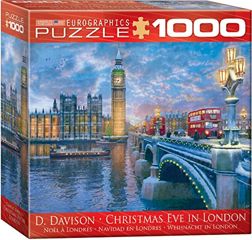EuroGraphics Christmas Eve in London Puzzle (1000 Pieces)