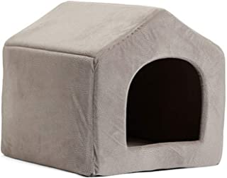 The Hot Rock Pet Products Luxury Dog House Cozy Dog Bed Puppy Kennel 5 Color Pet Sleeping Bed Cat Cushion Kitten Mats Pet Shop
