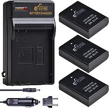 Pickle Power EN-EL14 EN EL14A Battery Charger and 3-Pack Rechargeable Li-ion Batteries for Nikon D5600 D3300 D3500 D5100 D5500 D3100 D3200 D5200 D5300 Coolpix P7000 P7100 P7200 P7700 P7800
