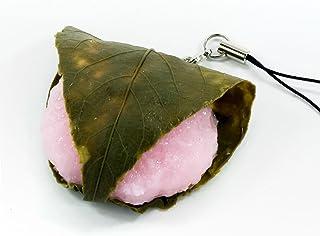 食品サンプルストラップ 食べちゃいそうな桜餅 082OS