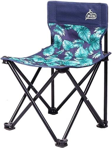 Chaise pliante portable de loisirs pour le camping, chaise de pêche en plein air, petit tabouret de cheval (Couleur   petit)