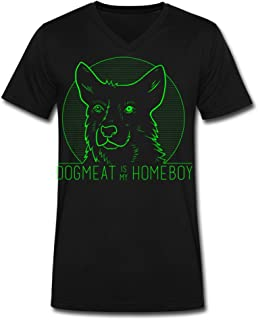 Dogmeat Is My Homeboy V Neck Man Fashionable T Shirts Men's Fashion