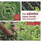 Des salades toute l'année dans mon jardin de XAVIER MATHIAS