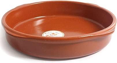 Azofra - Cazuela de barro de 40 cm apta para vitro