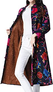 printed wool coat
