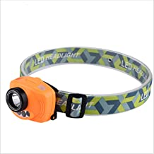 LED LADSABLE KOPLAMP Draagbare Verstelbare Sporten Helderheid Afstelling 3 * AAA Lithium Electric IP44 Waterdichte Outdoor...