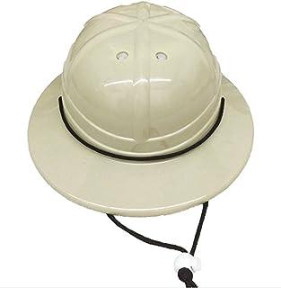 GiftExpress Kids` Hard Plastic Safari Pith Helmet (Gray Tan)
