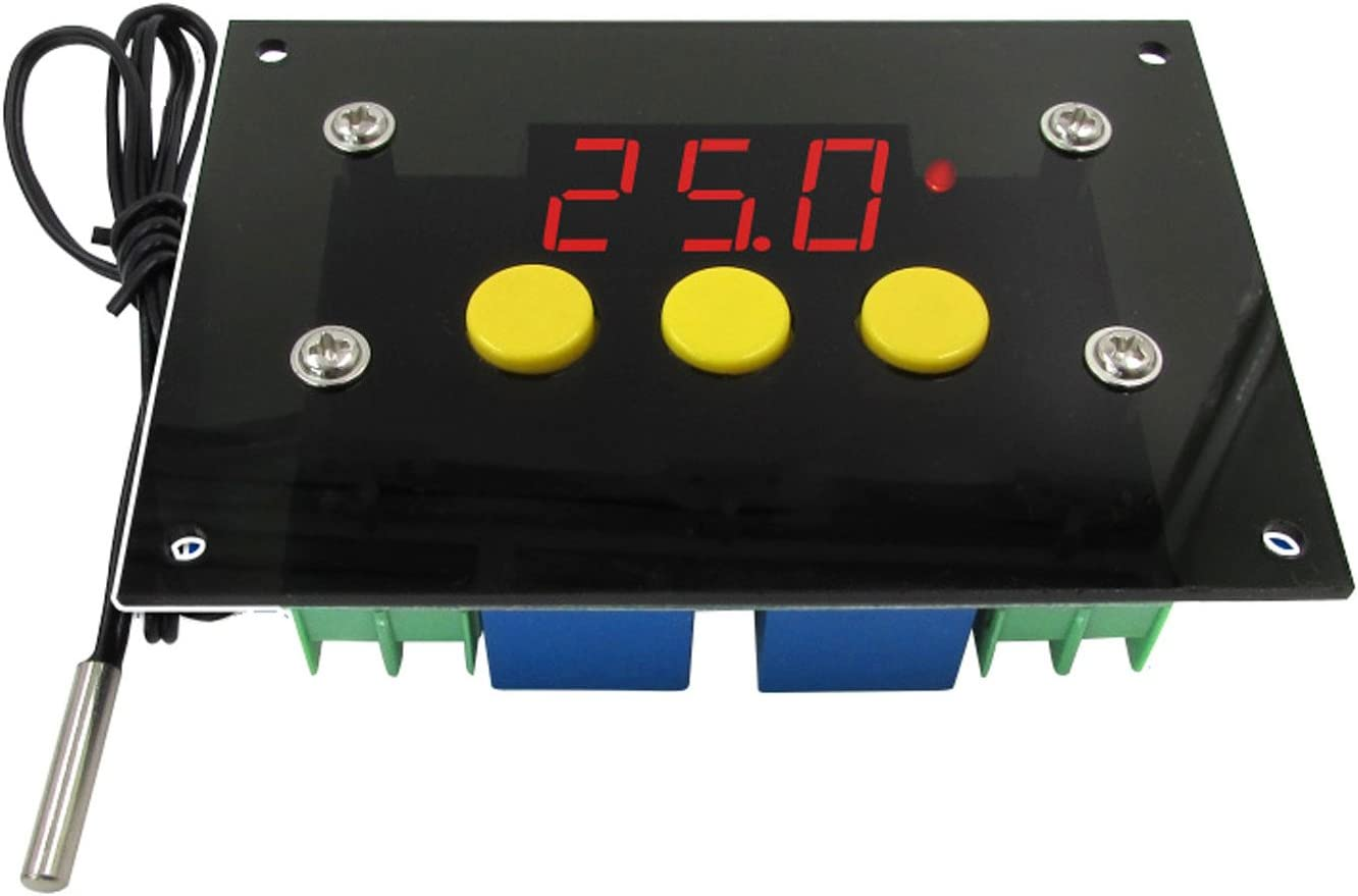 NOYITO 2-Channel Automatic Thermostat Controller +1 Spasm price -50℃ latest to