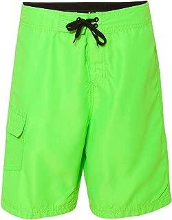 Men's 9301 Solid Board Shorts Swim Trunks