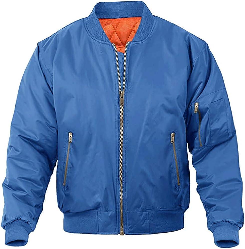 MAGNIVIT Superlatite Men's Bomber Price reduction Jacket Winter Casual Fall Military