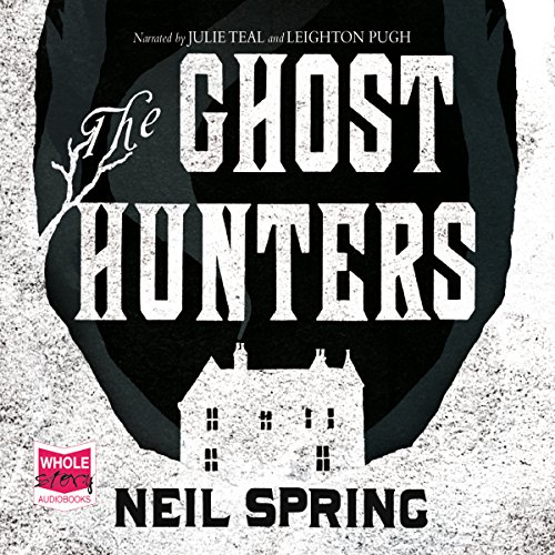 The Ghost Hunters audiobook cover art